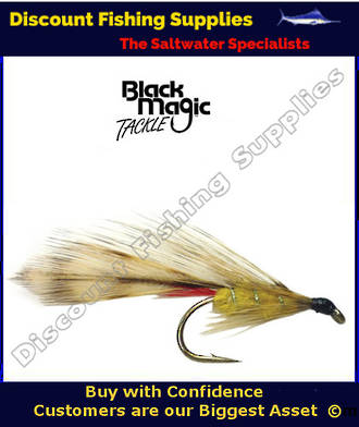 Black Magic Yellow Parsons Glory #8 Trout Fly