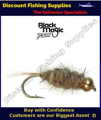 Black Magic GB Hare & Copper Nymph #12