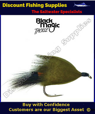 Black Magic Hamills Killer Yellow #6 Trout Fly