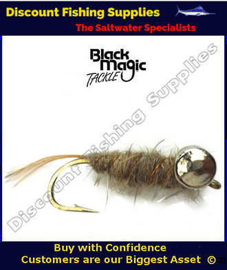 Black Magic Leadeye Hare & Copper #10