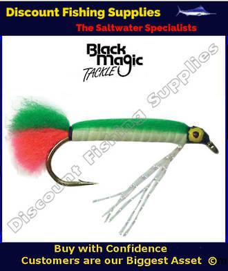 Black Magic Lumo Green Doll Fly #6