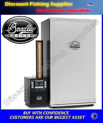 Bradley Digital 4 Rack Smoker - Stainless Steel