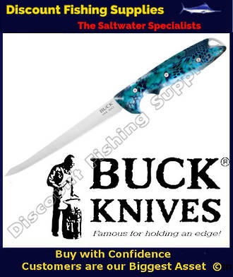 Buck Abyss Pontus Fillet Knife 6""