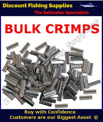 Crimps - BULK Aluminium Single Sleeve 2.3mm X 1000