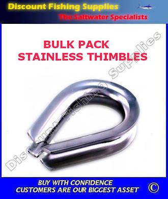 Thimble S/S - Medium X 100