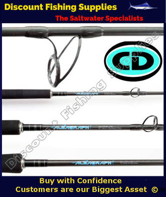 CD Albagraph 6 Overhead Casting Rod 10-15kg 2pc