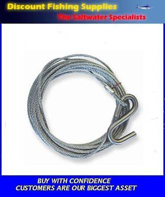 Winch Wire 7.5m X 6mm (CLARKE)