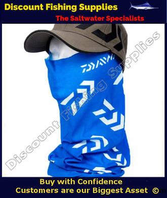 Face Shield - Daiwa Headsock Blue