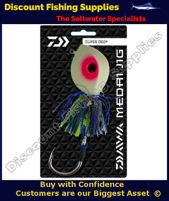 Daiwa Medai Jig Diamond Eye 750g Lumo