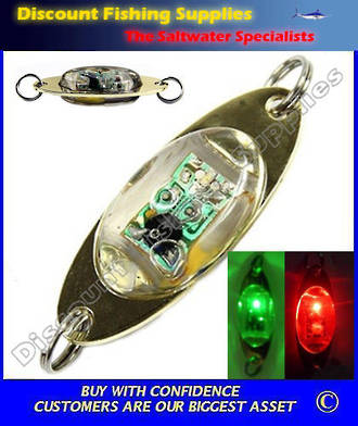 Deep Drop Underwater LED Fishing Light - RED