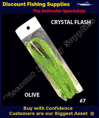 DFS Crystal Flasher Hair - Olive