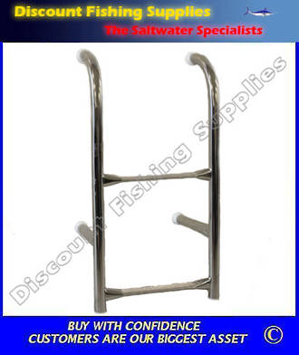 Dixon Removeable 2 step Transom Ladder