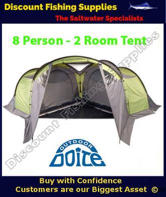 Doite Pirineo Pro 8 Tent - 2 Room - Sleeps 8