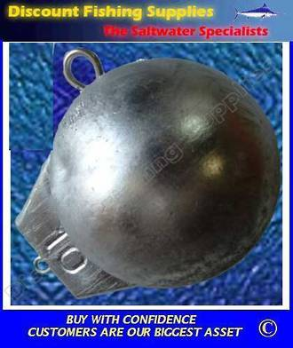 Downrigger Weight - Ball Type 3lb