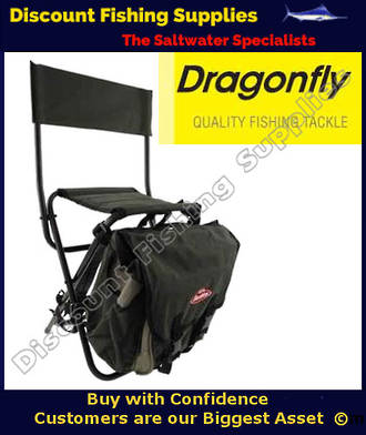 Dragonfly Backpack Fishing Stool