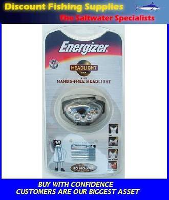 Energizer 6 LED Headlight GOLD