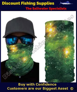 Face Shield - Green Cosmos