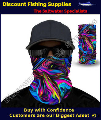 Face Shield - Psychedelic (Premium 3D Printed)
