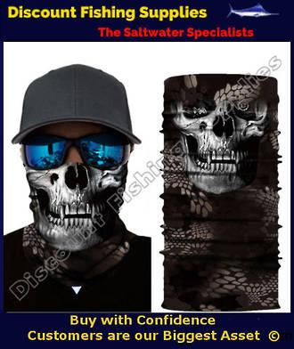 Face Shield - Skull Tech Crow