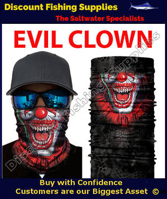 Face Shield - Evil Clown