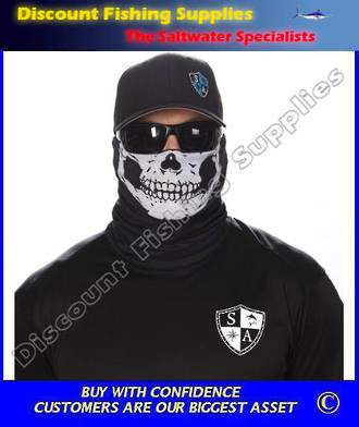 Face Shield - Half Skull