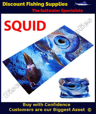 Face Shield - Squid