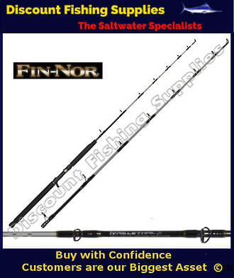 """Fin Nor Lethal OH Jig Rod 5'6"""" 50lb - 80lb"""