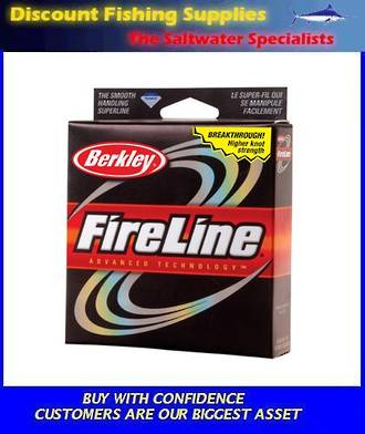 Berkley Fireline - Superbraid Flame - 20lb X 125yd's