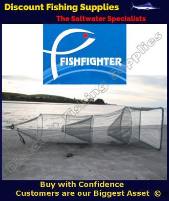 FISHFIGHTER WHITEBAIT NET WITH 2 TRAPS WhiteBait Socknet