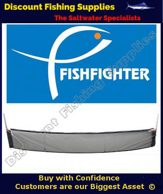 Fishfighter Whitebait Drag Net with Poles
