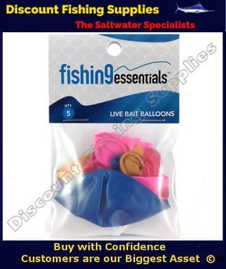 Fishing Essentials LiveBait Balloons (5 Pack)