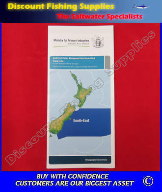 New Zealand Fishing Rules And Regulations - SOUTH-EAST Area