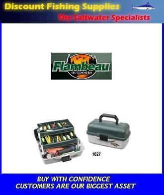 Flambeau 2 Tray Tackle Box 1627