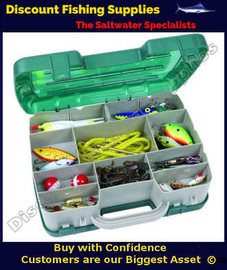 Flambeau Double Satchel 7220 Tackle Box