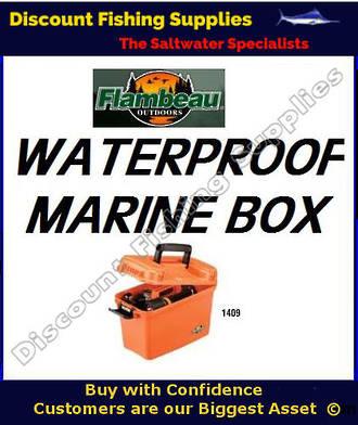 """Flambeau Marine Box 14"""" - DRYBOX"""