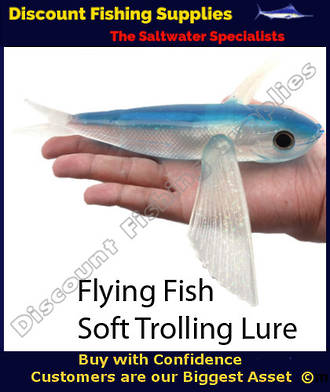 Flying Fish Lure 22cm - Unrigged