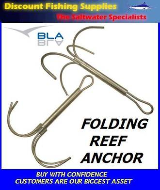 Folding Reef Anchor - 8mm