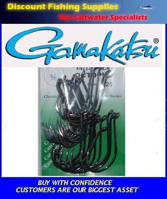 Gamakatsu Octopus Hook - 8/0 Value Pack