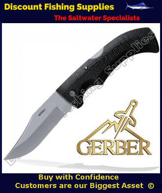 Gerber Gator Folder - Clip Point, Fine Edge