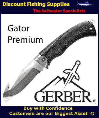 Gerber Gator Premium Gut Hook Hunting Folder