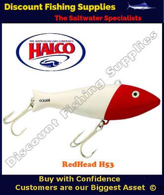 Halco Giant Trembler - RedHead