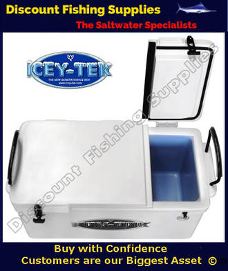 ICEY-TEK 70ltre LONG Style Split Lid Chilly Bin