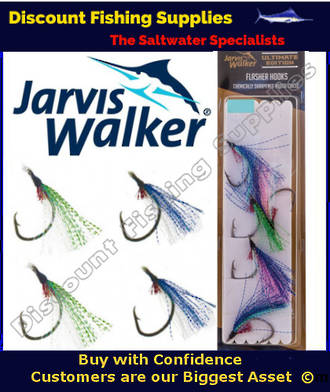 Jarvis Walker Flasher hook replacements 4/0