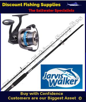 "Jarvis Walker Generation 600 Boat Spin 6'6"" Combo"