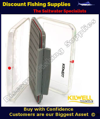 Kilwell Fly Box ABS DS Tri Foam Med