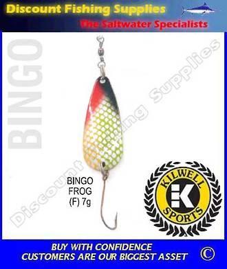 Kilwell Spinner - Bingo Frog 7g