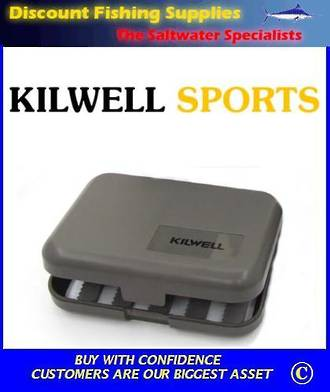 Kilwell Slit Foam Fly Box - 10 bars