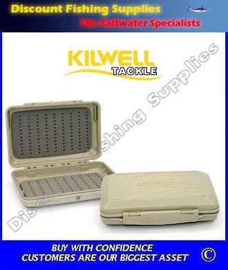 Kilwell Fly Box Waterproof Tri Foam Large