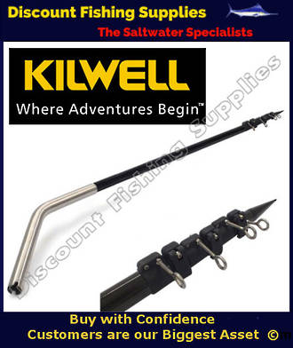 Kilwell Stiffyriggers 3.6m 3pc BB (pr) - Telescopic Outriggers