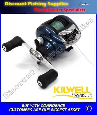 Kilwell WEA200 Baitcaster WITH Braid